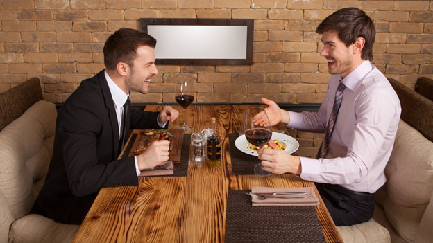 Business Lunch 5 Tips for Breaking Bread